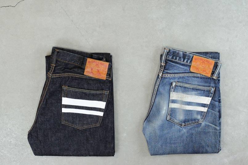 Momotaro Jeans denim made in Japan