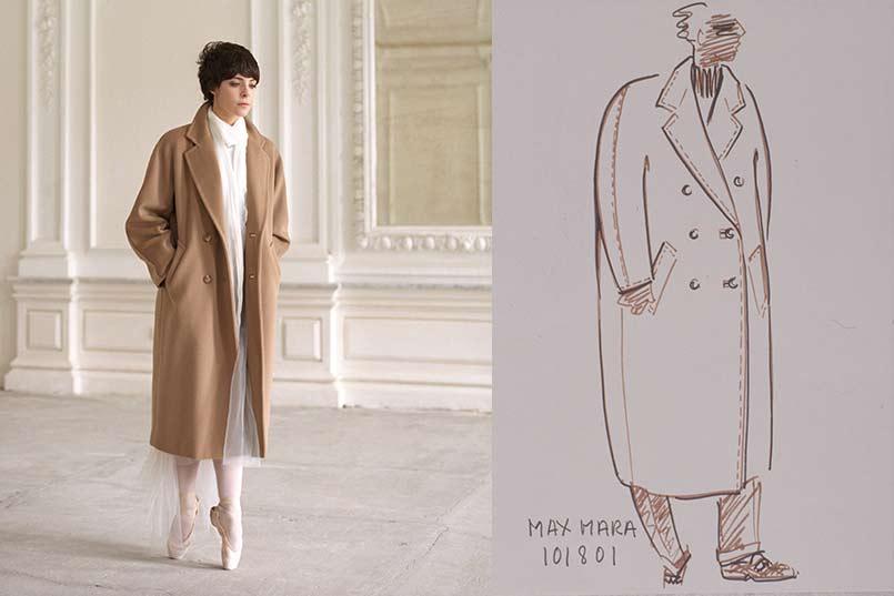 Max Mara Whitney bag and 101801 coat 2016