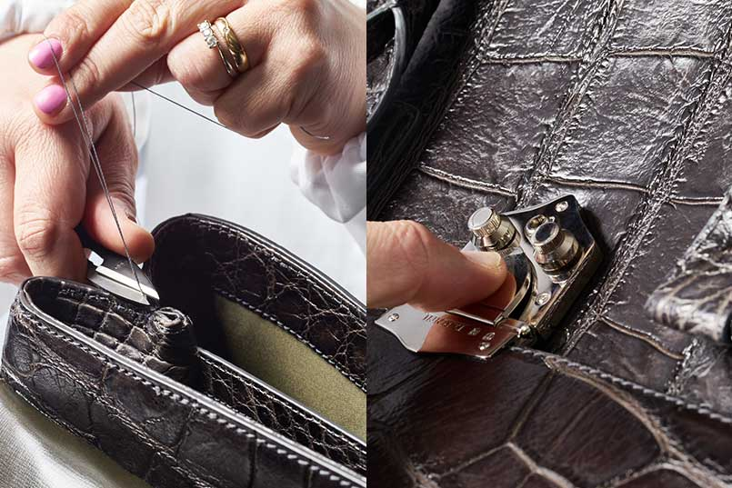 Tardini luxury alligator leather 2016