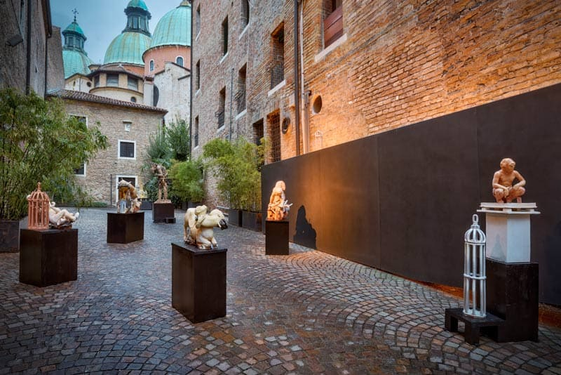 Marco Fintina | Naufragio - art exhibition at Lazzari Space