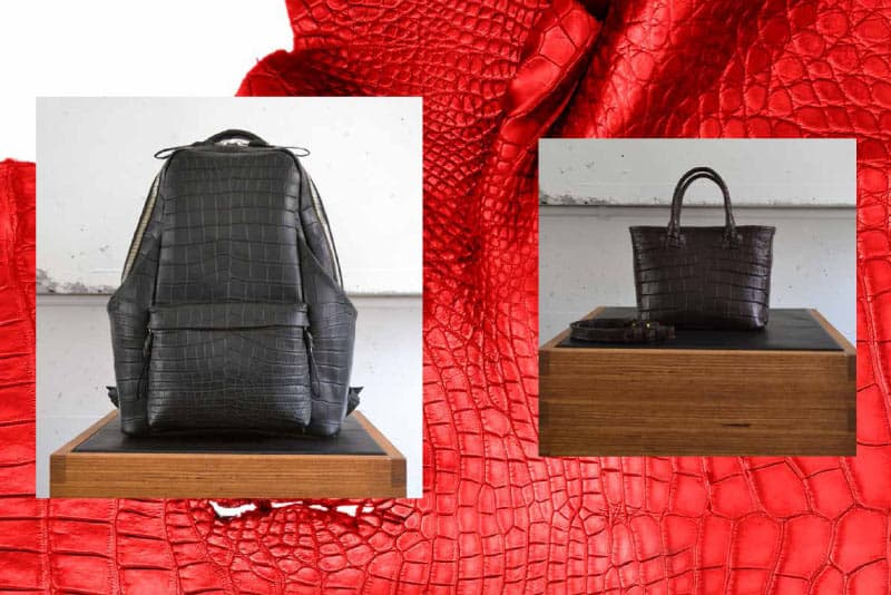 Cornelian Taurus - Japanese crocodile leather bags