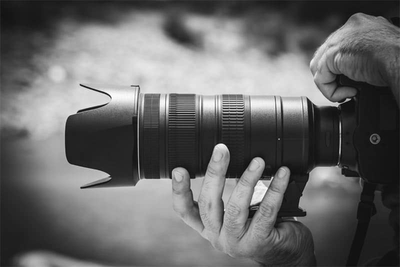 Photographer and art of photography