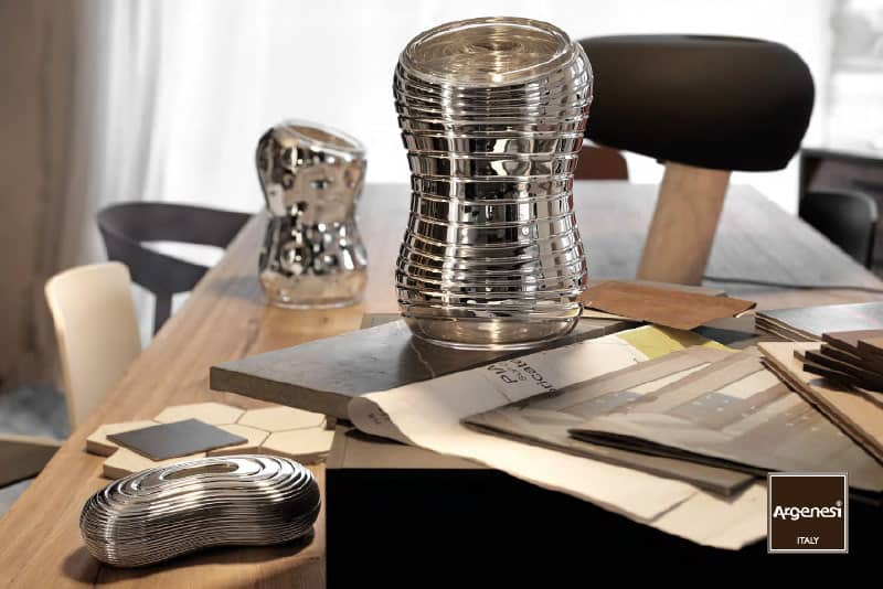 Argenesi and Karim Rashid design silver