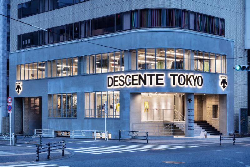 Descente Tokyo flagship store
