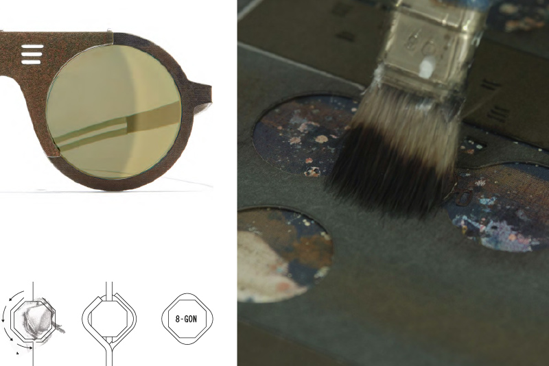 Hapter glasses excellence production and designed in Italy
