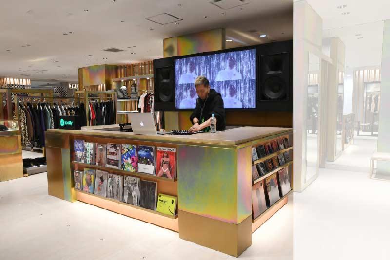 Isetan Men Shinjuku Store in Tokyo Japan
