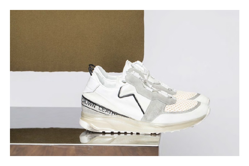 Leather Crown iconic shoes italian sneakers